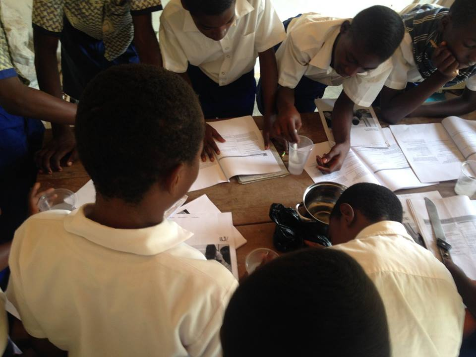Australian schools are training Global Scientists with the partners in Ghana