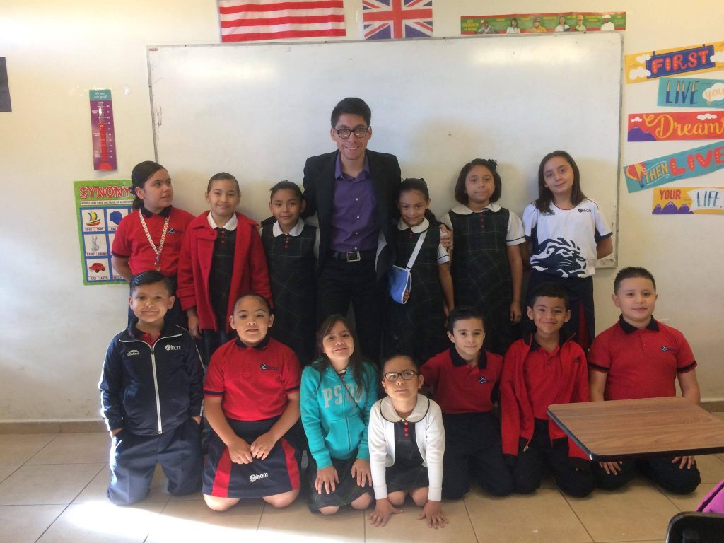 Andres Riveras and his students in Mexico are participating in a Level Up Village global collaboration with partners students in the United States.