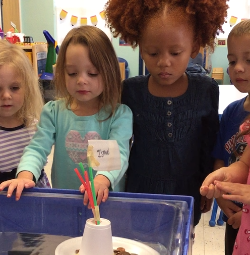 Pre Kindergarten Students Reach Across The World At Goddard School